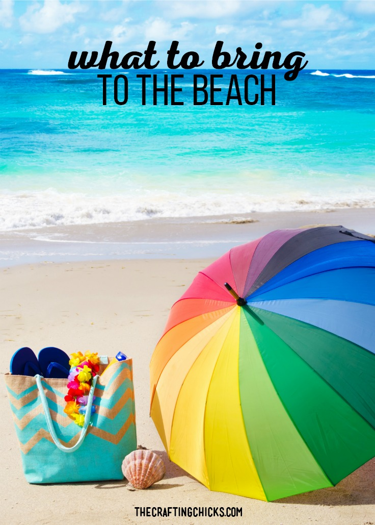 What to Bring to the Beach. Our list of must have items to make beach days that much better. #beachdays #beachsupplies #beachitems #whattotaketothebeach