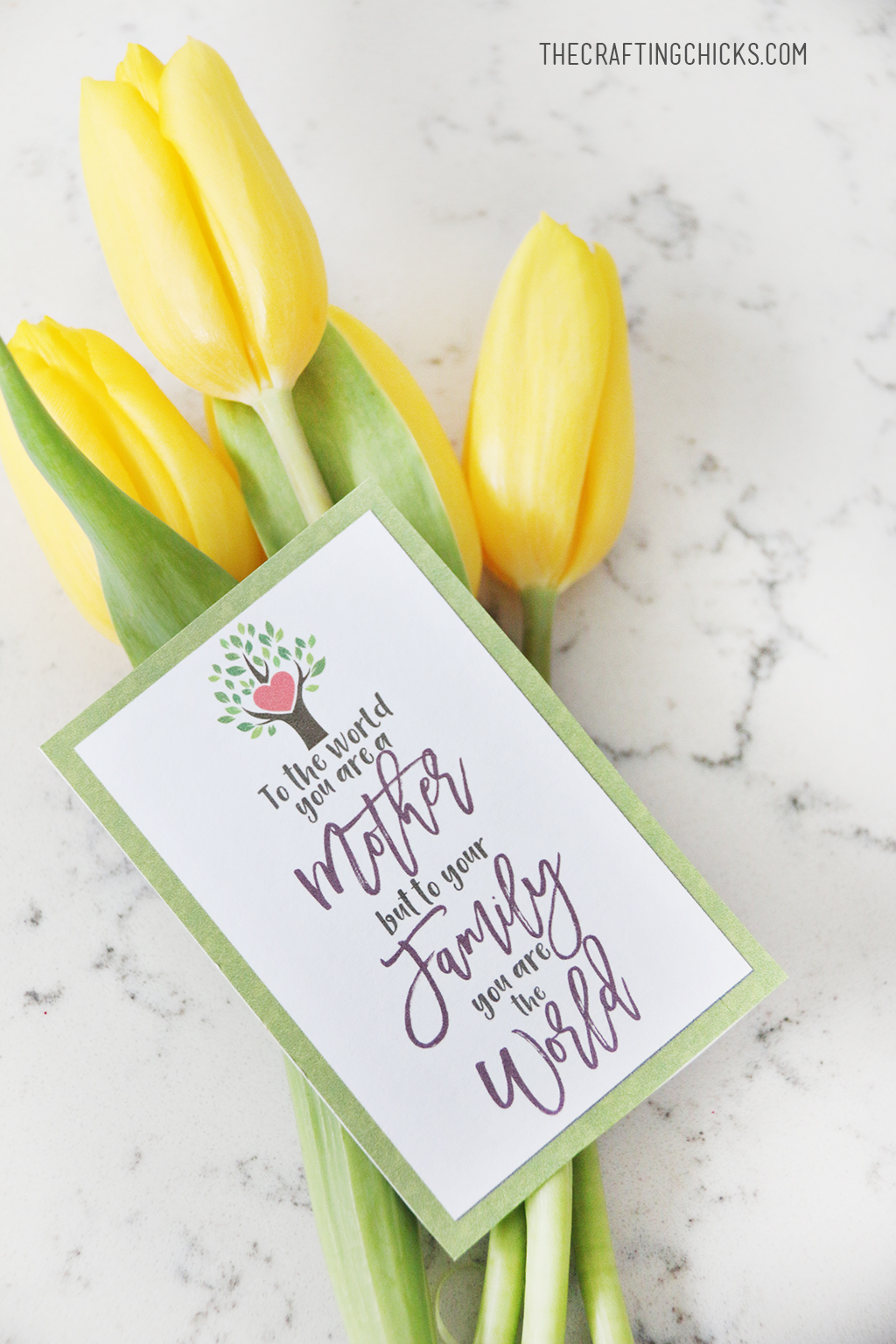 Mother's Day Card Free Printables - The Crafting Chicks