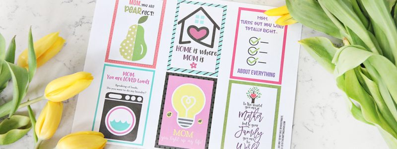 Mother's Day Card Free Printables