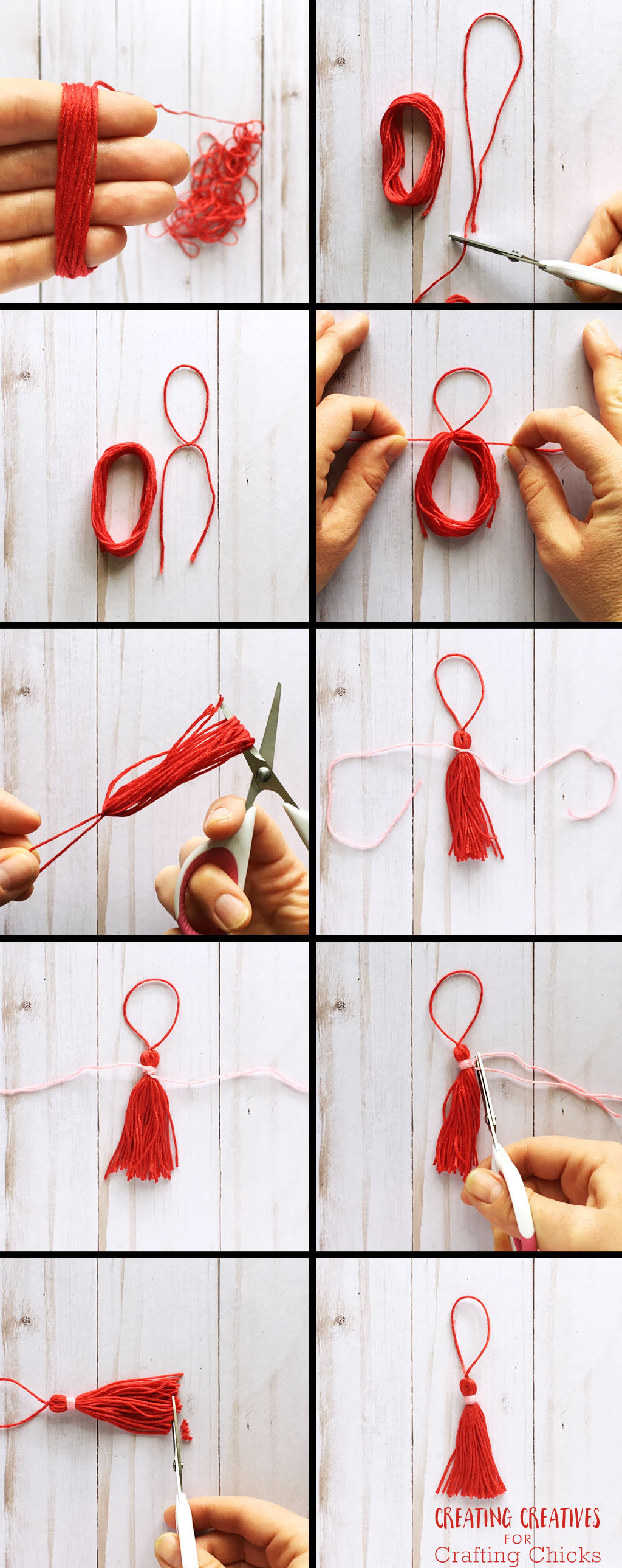 DIY Tassel Bookmark