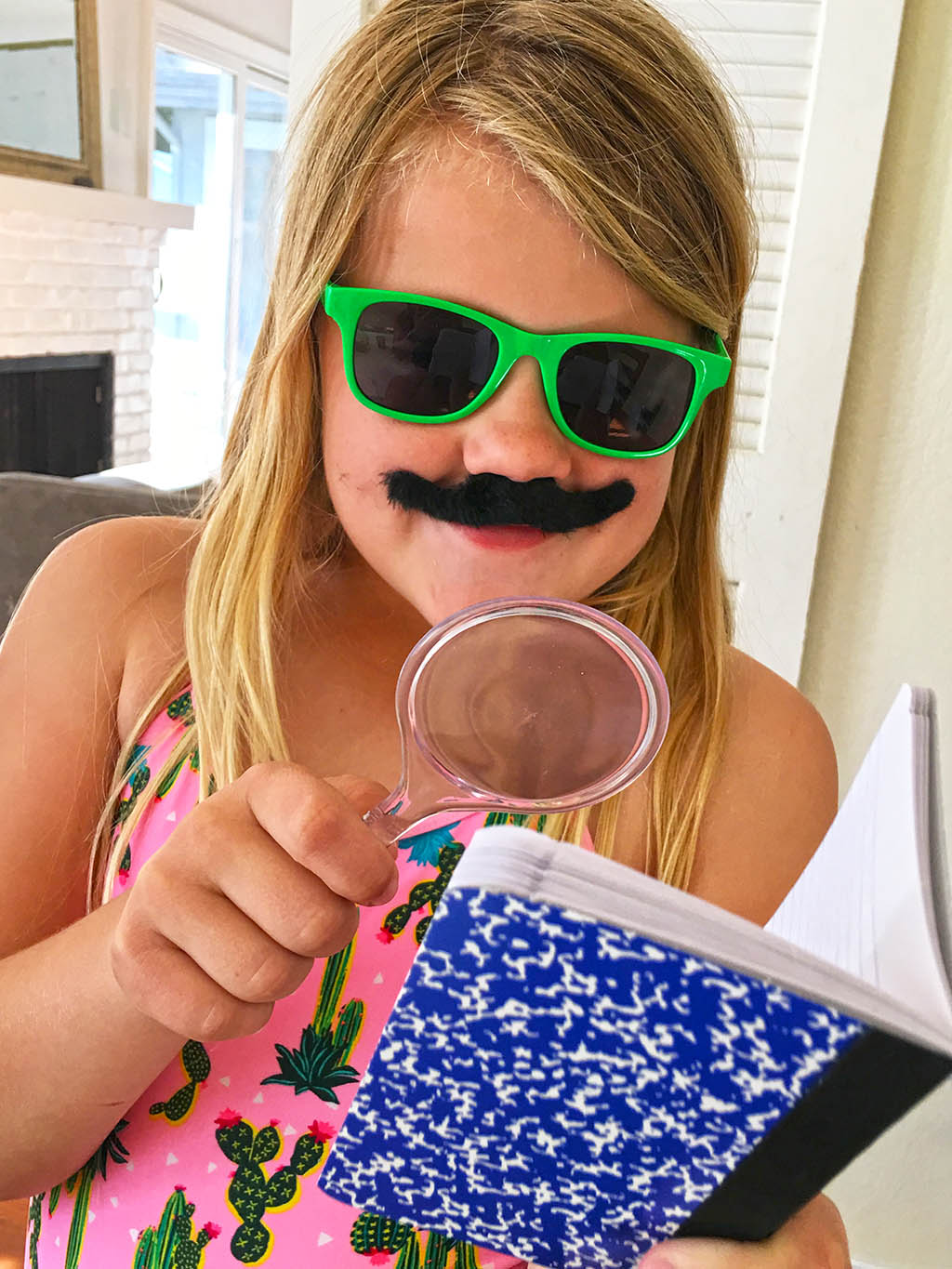 DIY Kids Spy Kit and Fingerprint Craft