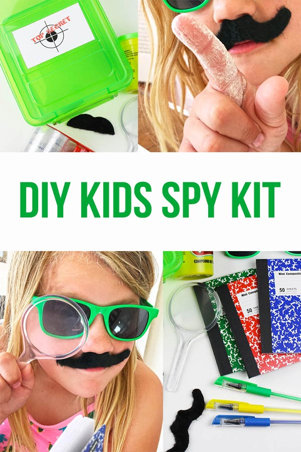 DIY Kids Spy Kit