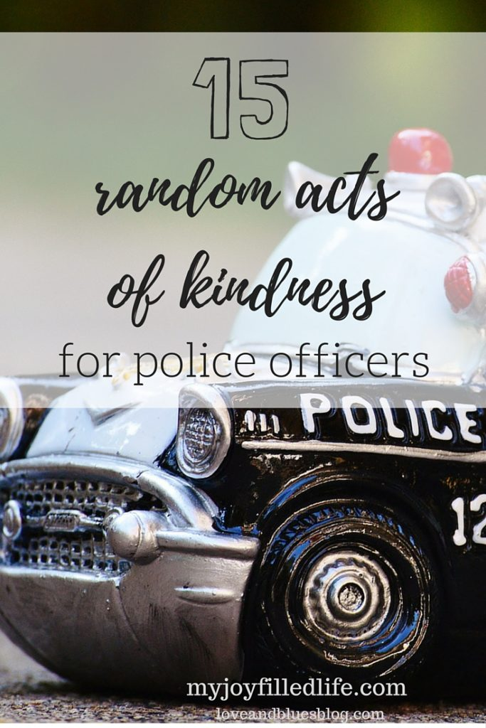 Random Acts of Kindness for Police Officers