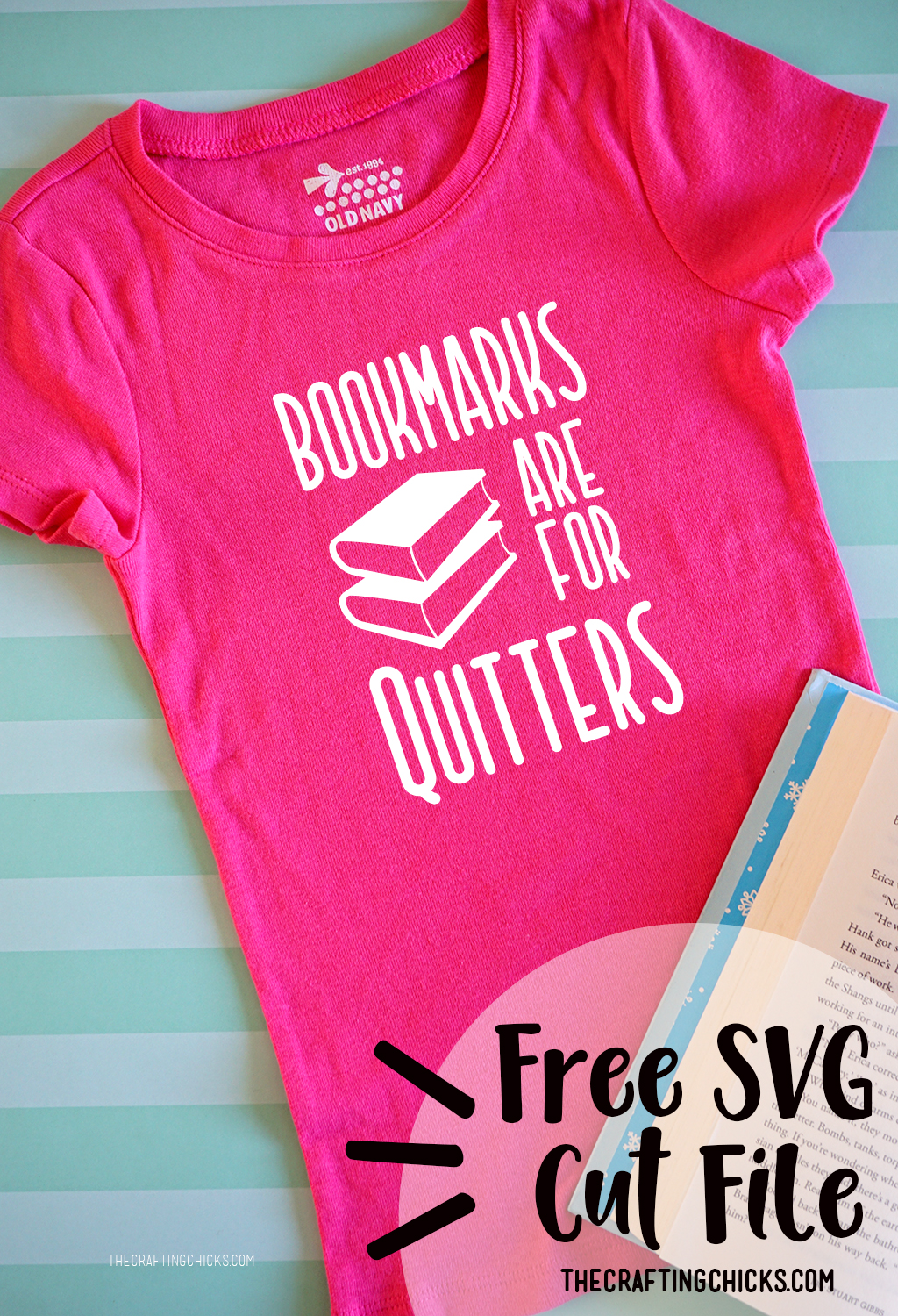 Book T-Shirt SVG Files