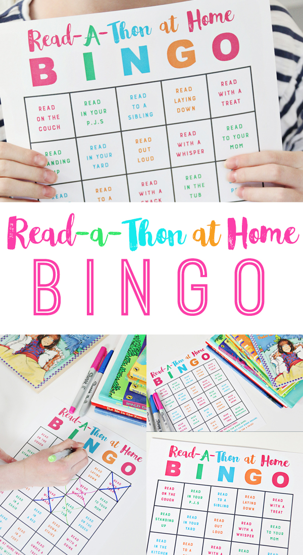 Read-A-Thon Bingo at Home
