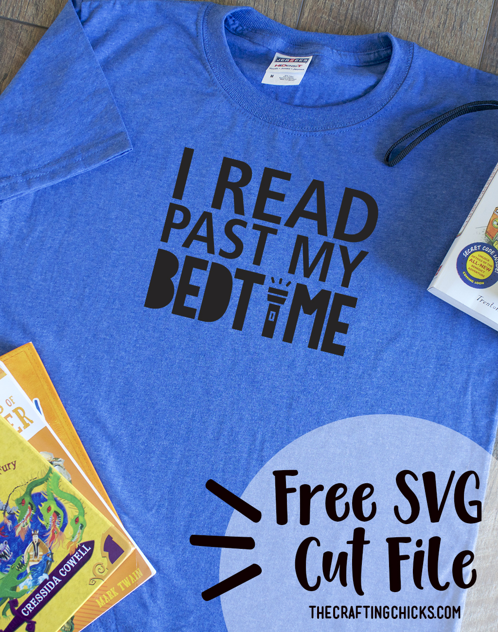 Book T-Shirt SVG Cut Files