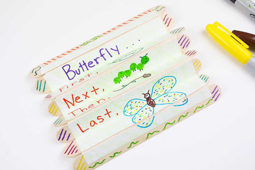 Butterfly Life Cycle Preschool Craft