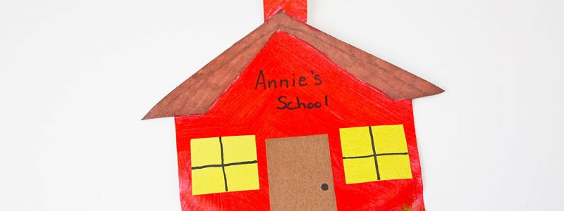 Back to School Preschool Craft