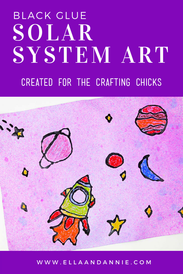 Solar System Art - The Crafting Chicks