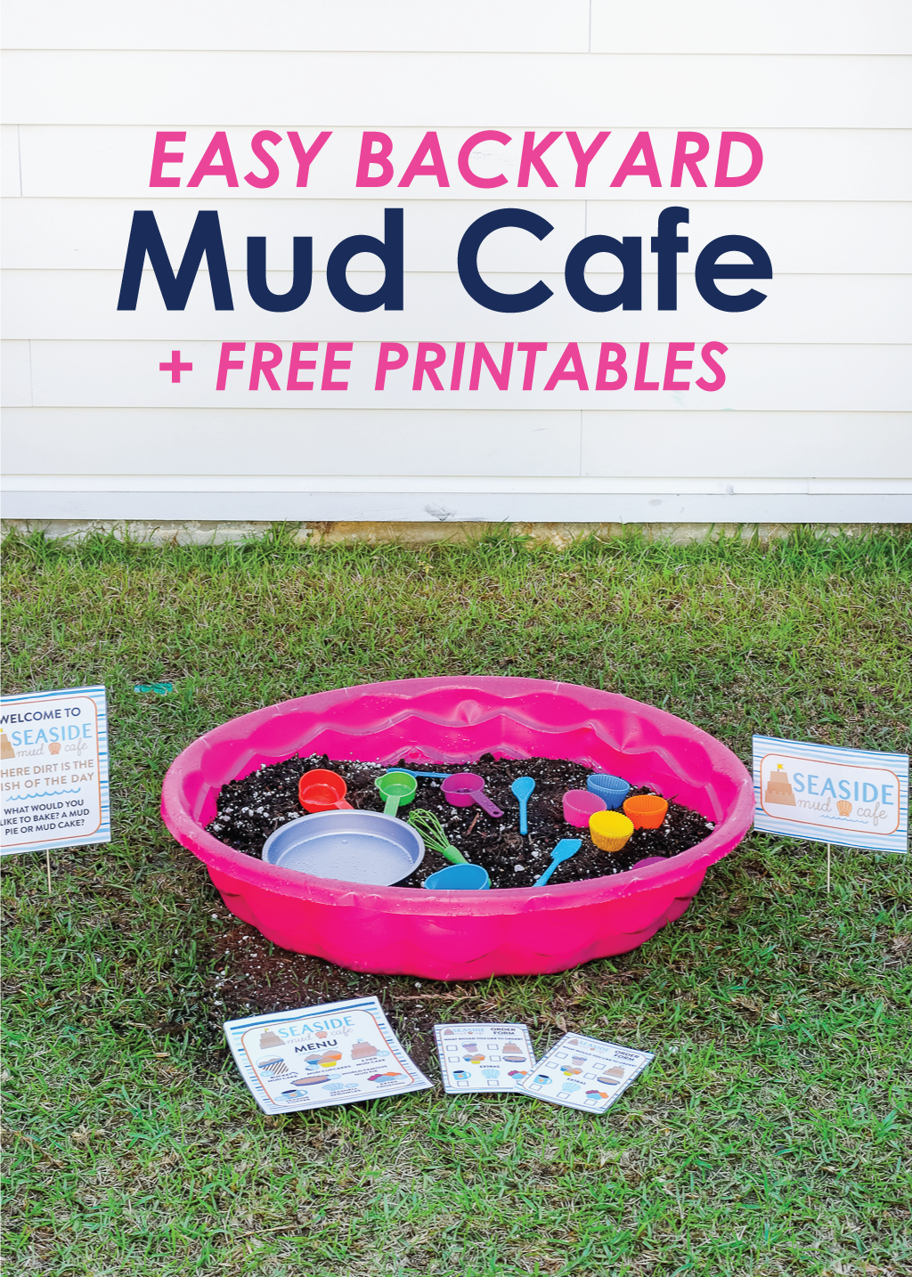 Backyard Mud Cafe Printables