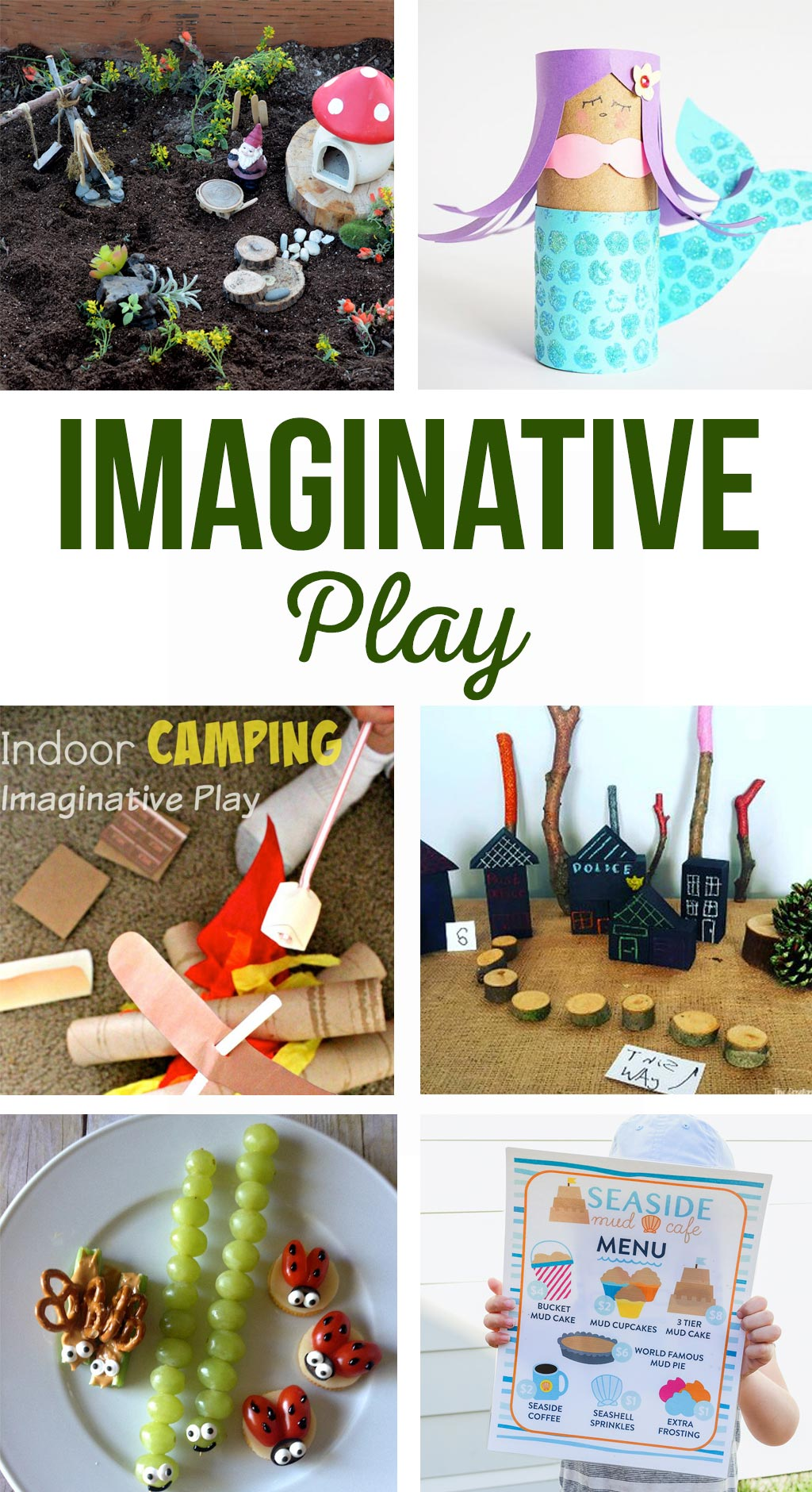 Imaginative Play | Activities and free printables to get your kids using their imaginations!  Free printables, games and so much more!  #kids #activities #imagination #play