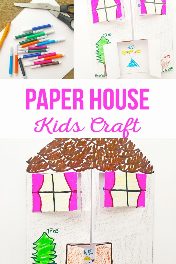 Paper House Kids Craft