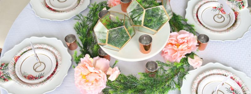 Easy Floral Bridal Shower