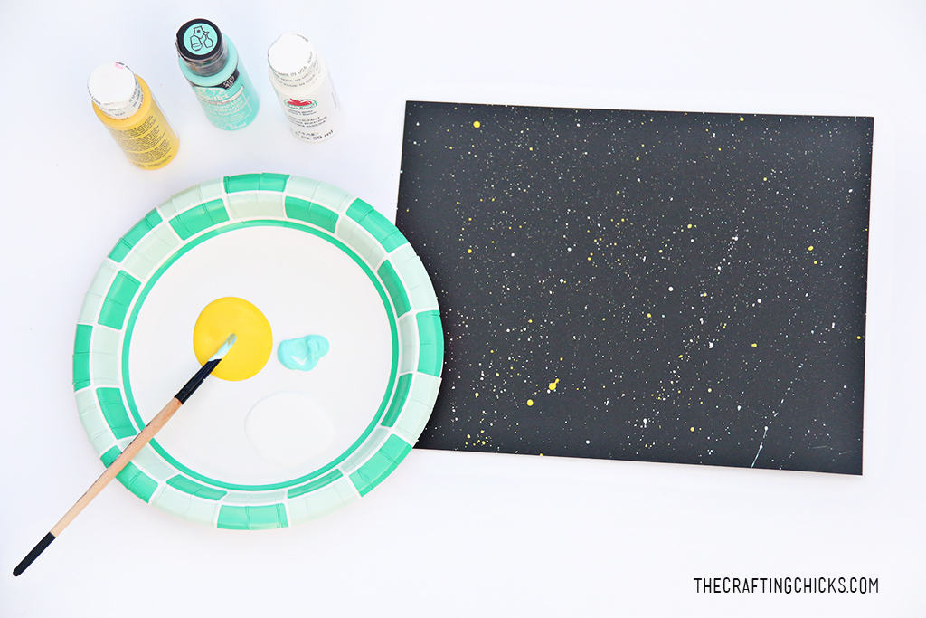Easy Solar System Craft for Kids - The Crafting Chicks
