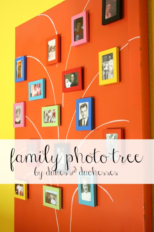 My Family Tree Crafts | Printable crafts and activities to help kids learn about their family tree. A fun way to get kids excited about genealogy!  #familytree #kidscrafts #printables #genealogy