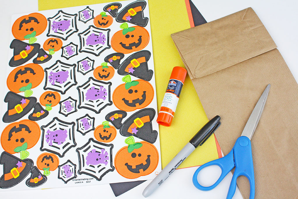 paper bag haunted house craft the crafting chicks