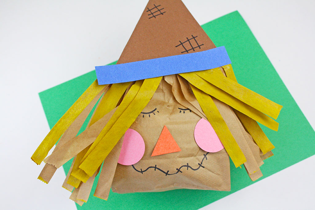 Scarecrow Paper Bag Craft