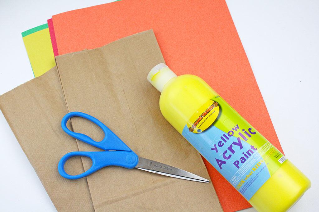 Scarecrow Paper Bag Craft