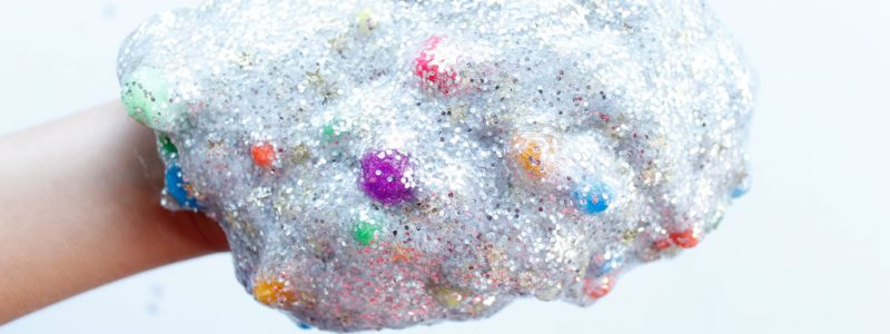 Galaxy Slime is the perfect slime for your star gazing kids. This slime is colorful and full of sparkles, just like the galaxy.