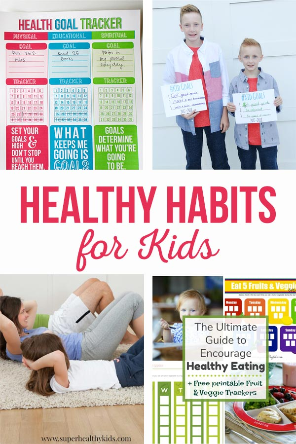 Healthy habiits for kids