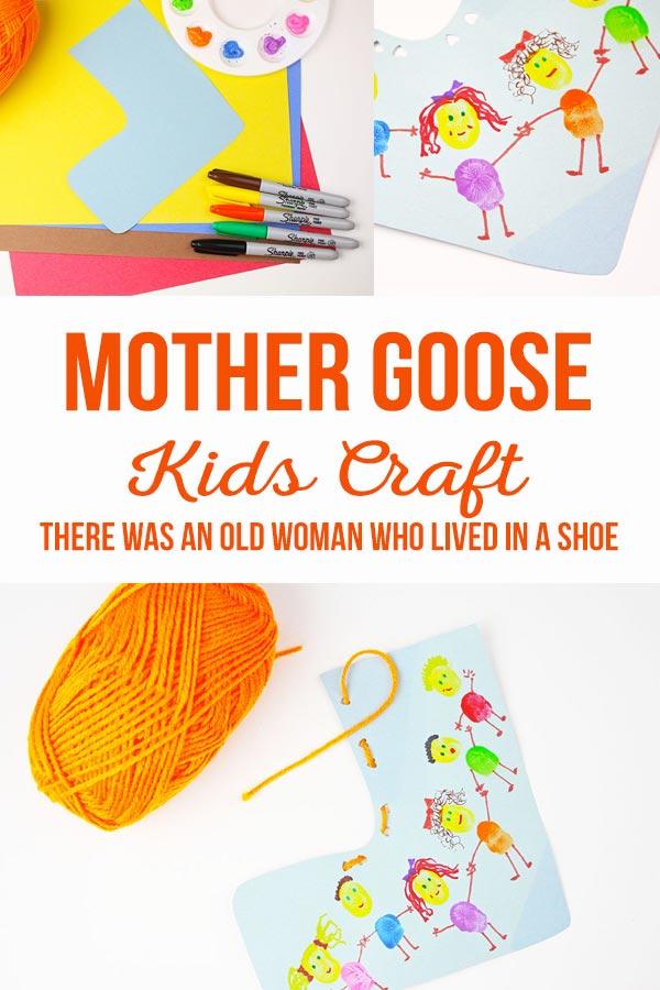 Mother Goose Kids Craft