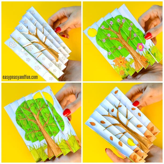 Four Seasons Printable