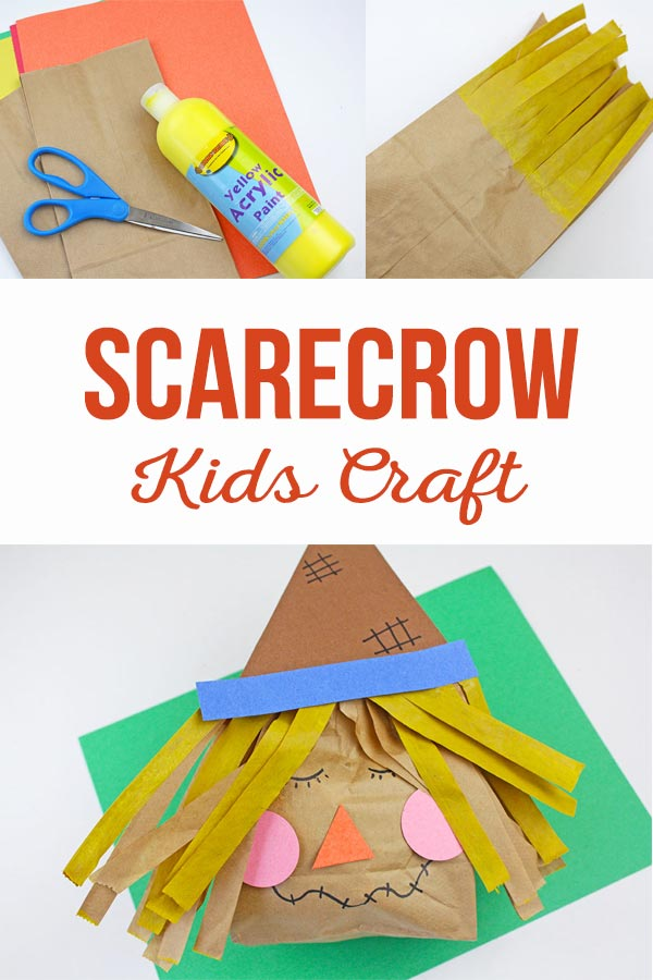 Scarecrow Kids Craft