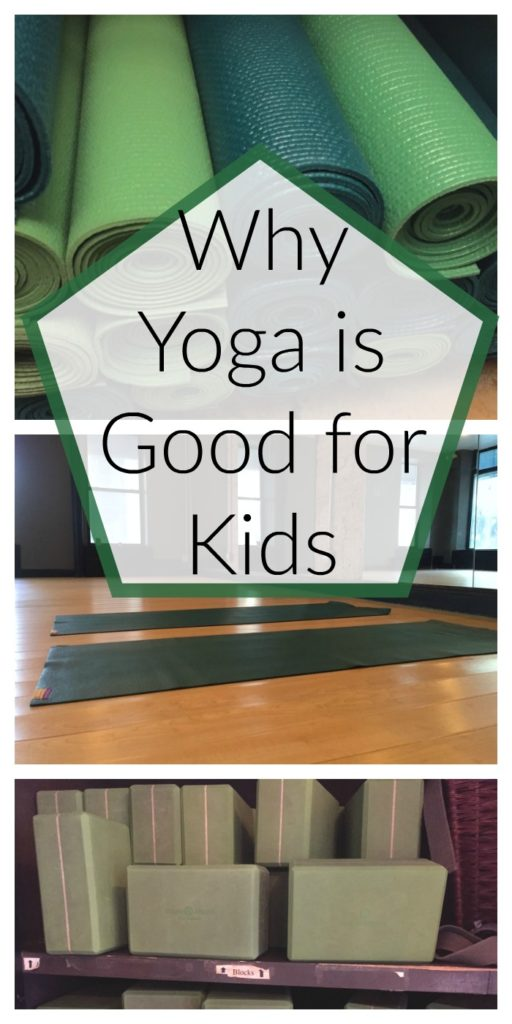 why yoga is good for kids