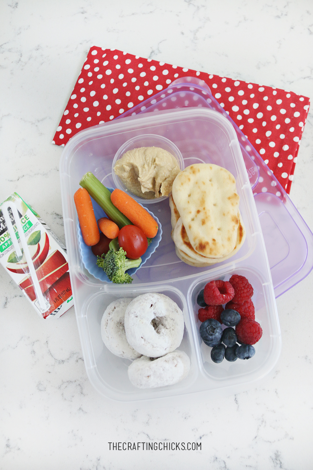 Lunch Ideas for School Week 1