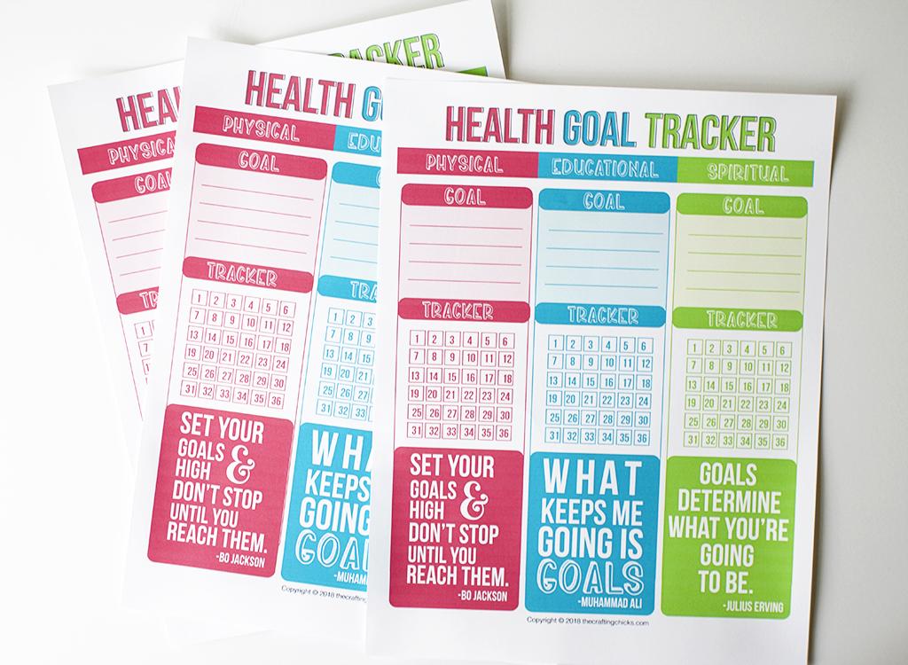 Health Goal Tracker