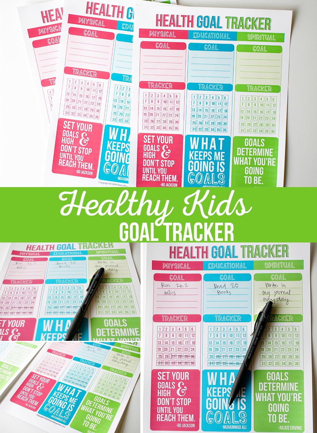 Healthy Kids Goal Tracker