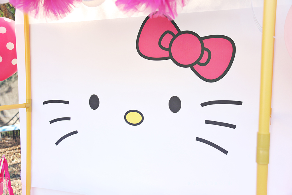 Hello Kitty Party Backdrop