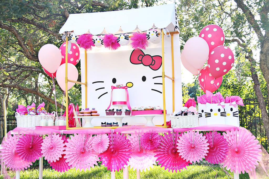 Hello Kitty Party Backdrop