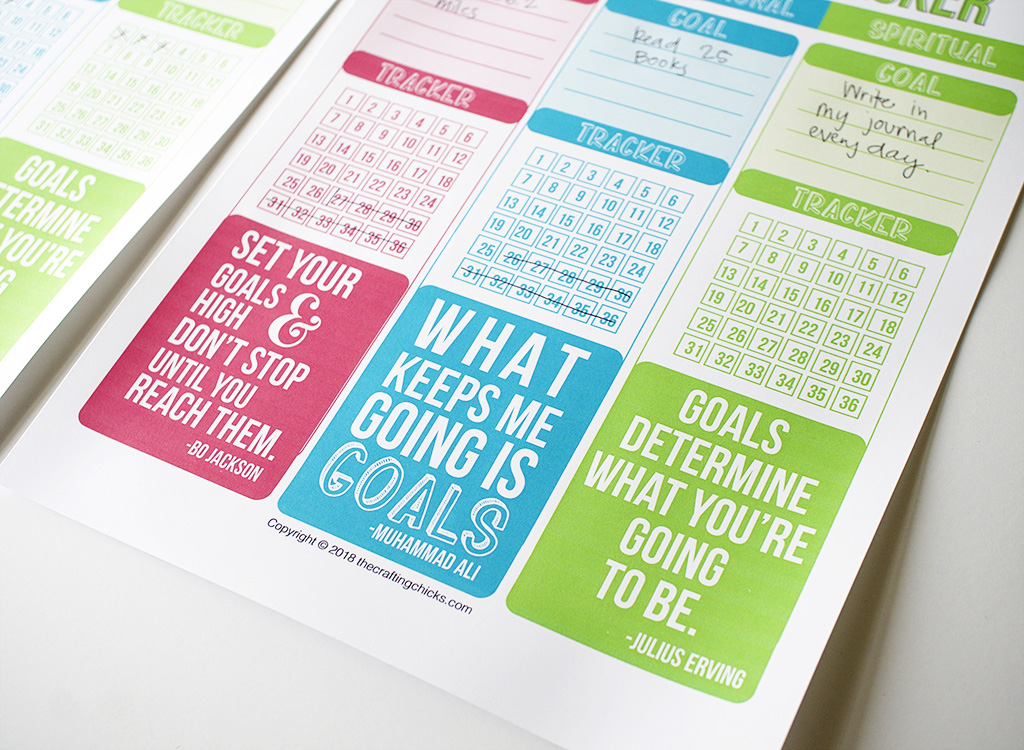 Healthy Kids Goal Tracker