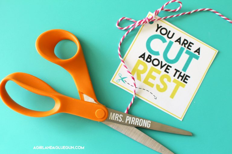 cut above the rest teacher gift
