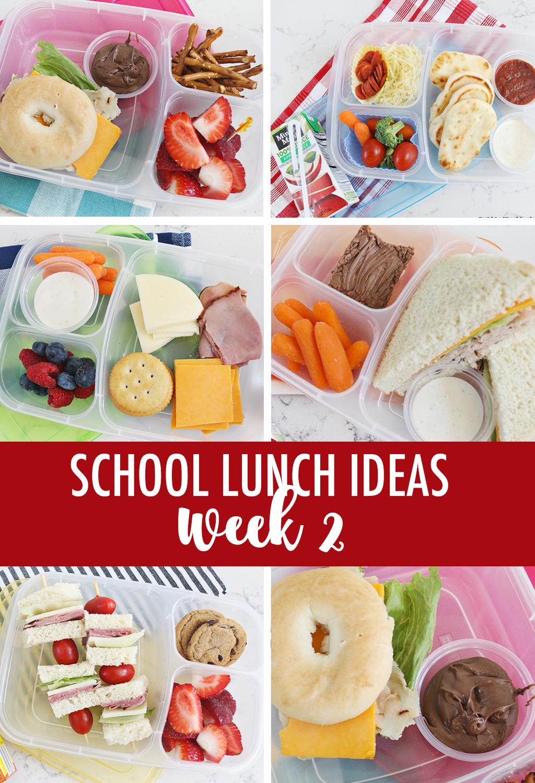 School Lunch Ideas Week 2