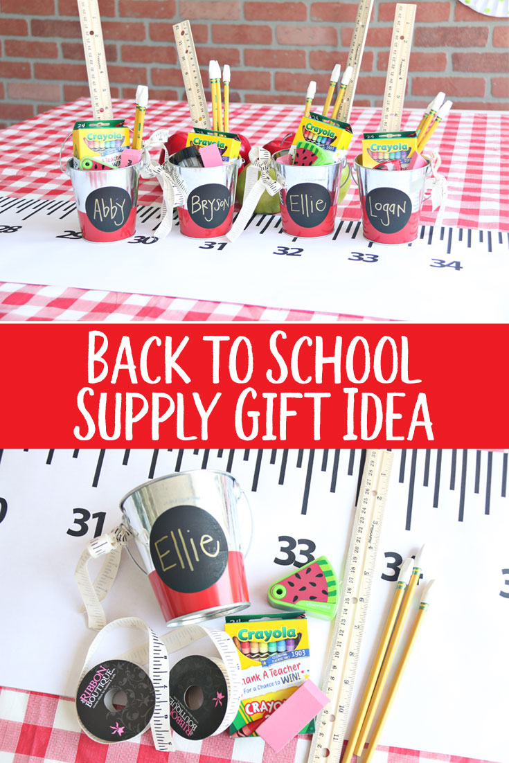 Back to School Supply Gift Idea