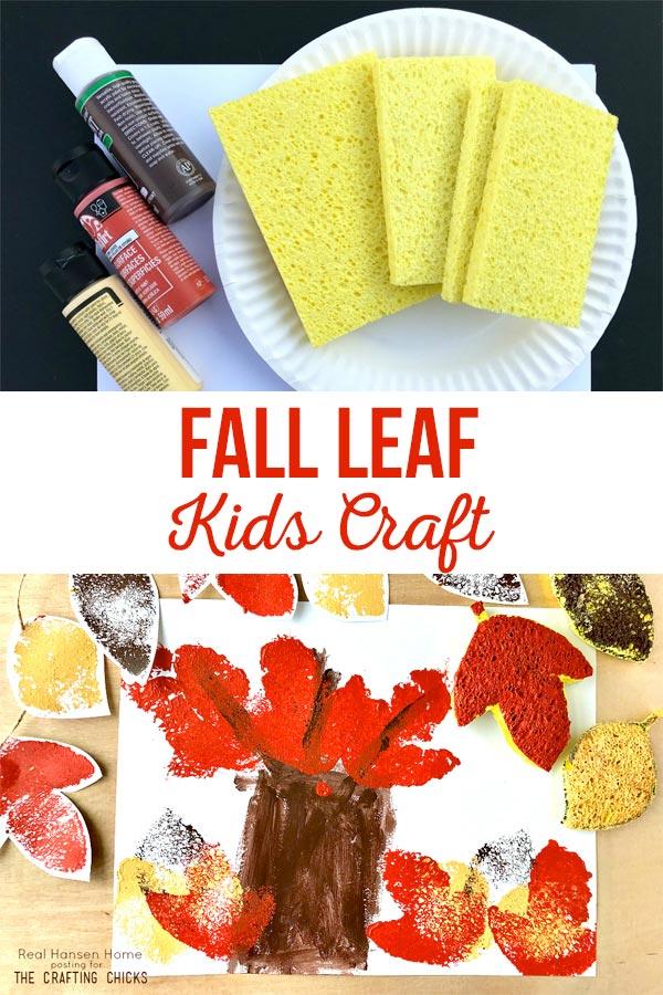 fall leaf kids craft