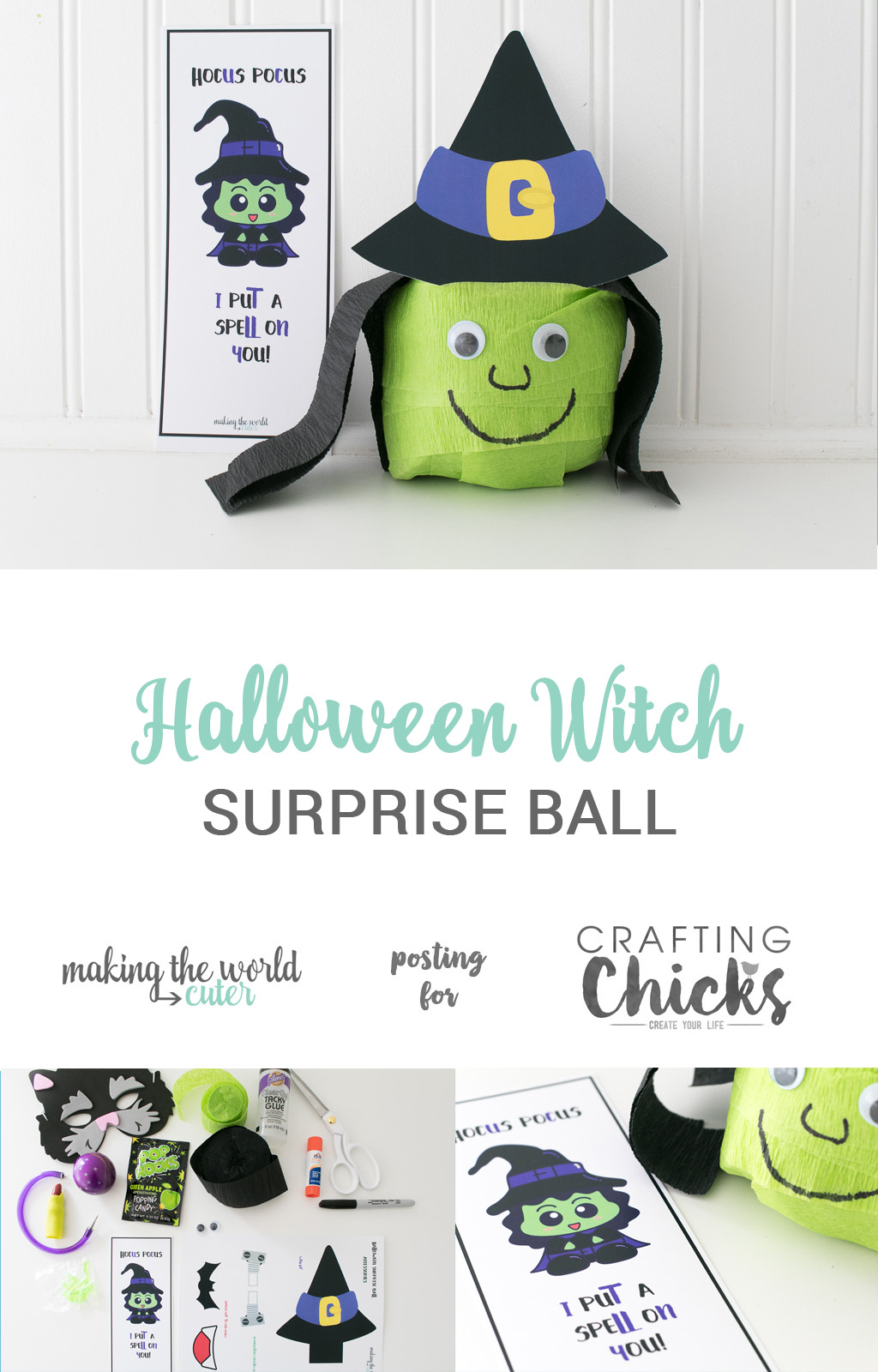Halloween Witch Surprise Ball