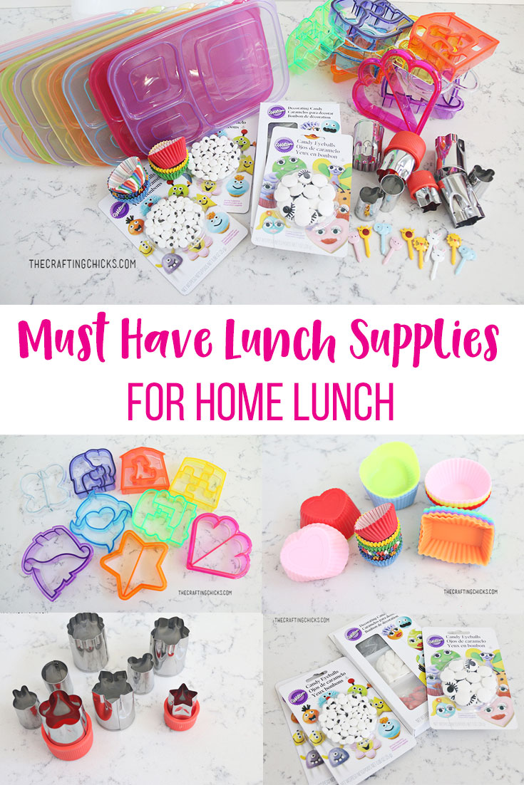 Must Have Lunch Supplies for Home Lunch, Kids lunch ideas