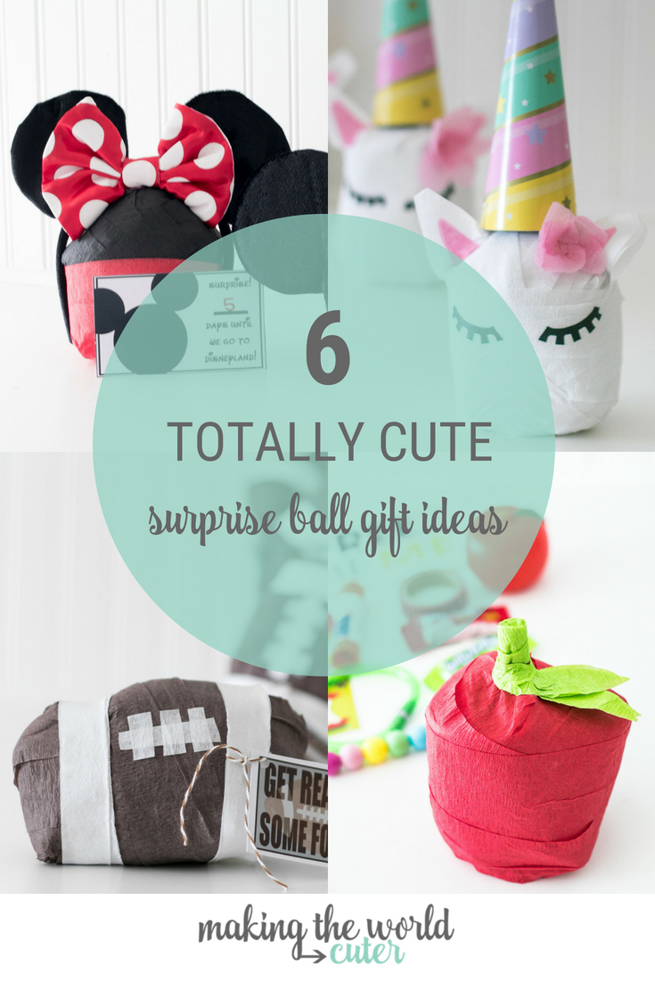 6 Totally Cute Surprise Balls