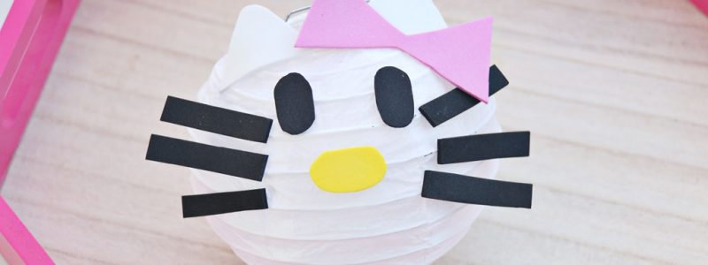 Hello Kitty DIY Paper Lanterns