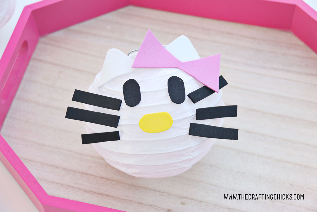 Hello Kitty DIY Paper Lantern for party decor