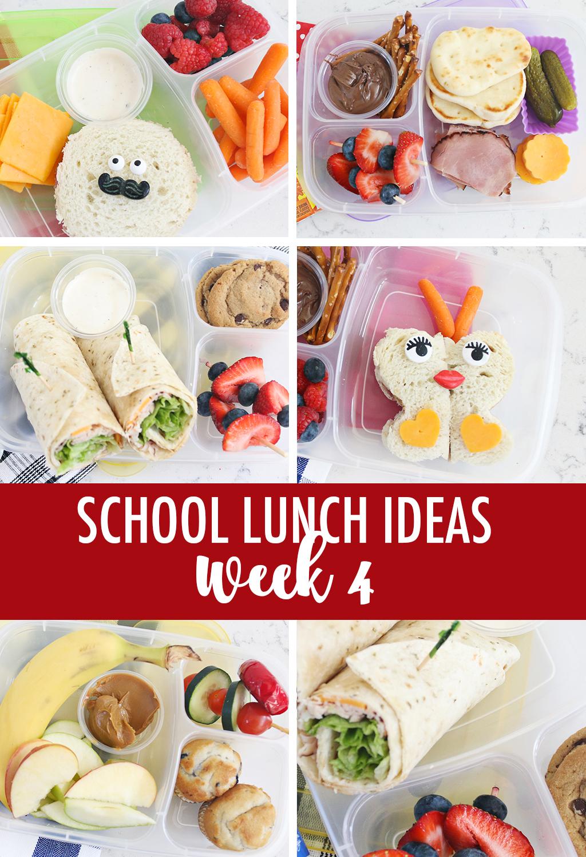 Lunch Ideas for School Week 4