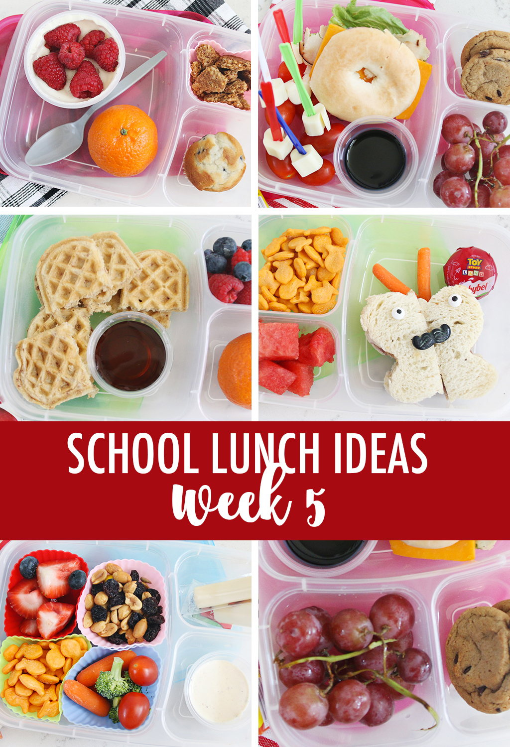 Week 5 School Lunch Ideas