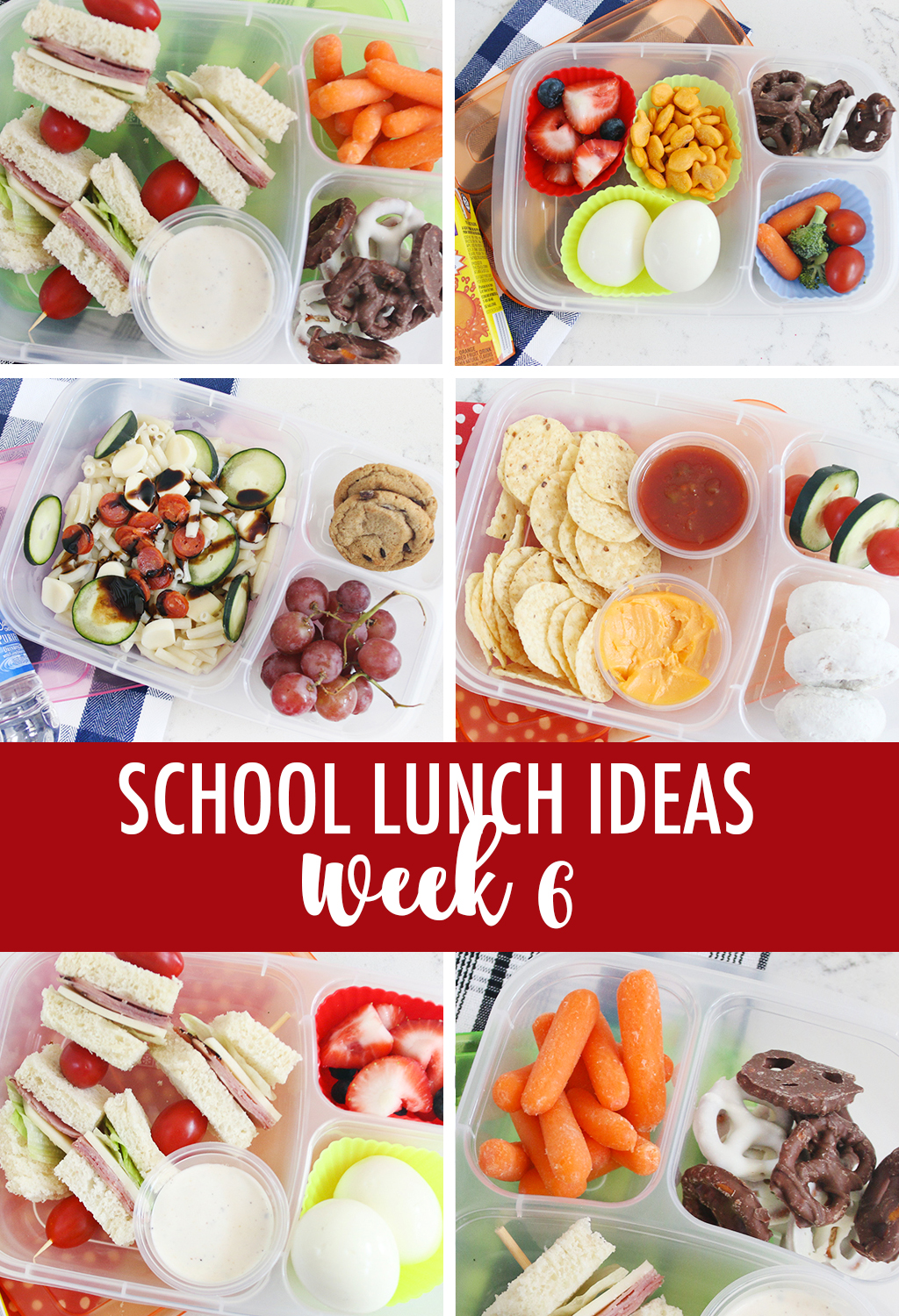 School Lunch Ideas Week 6