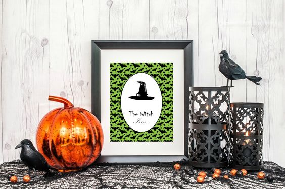 Witchy Party Printable Decor