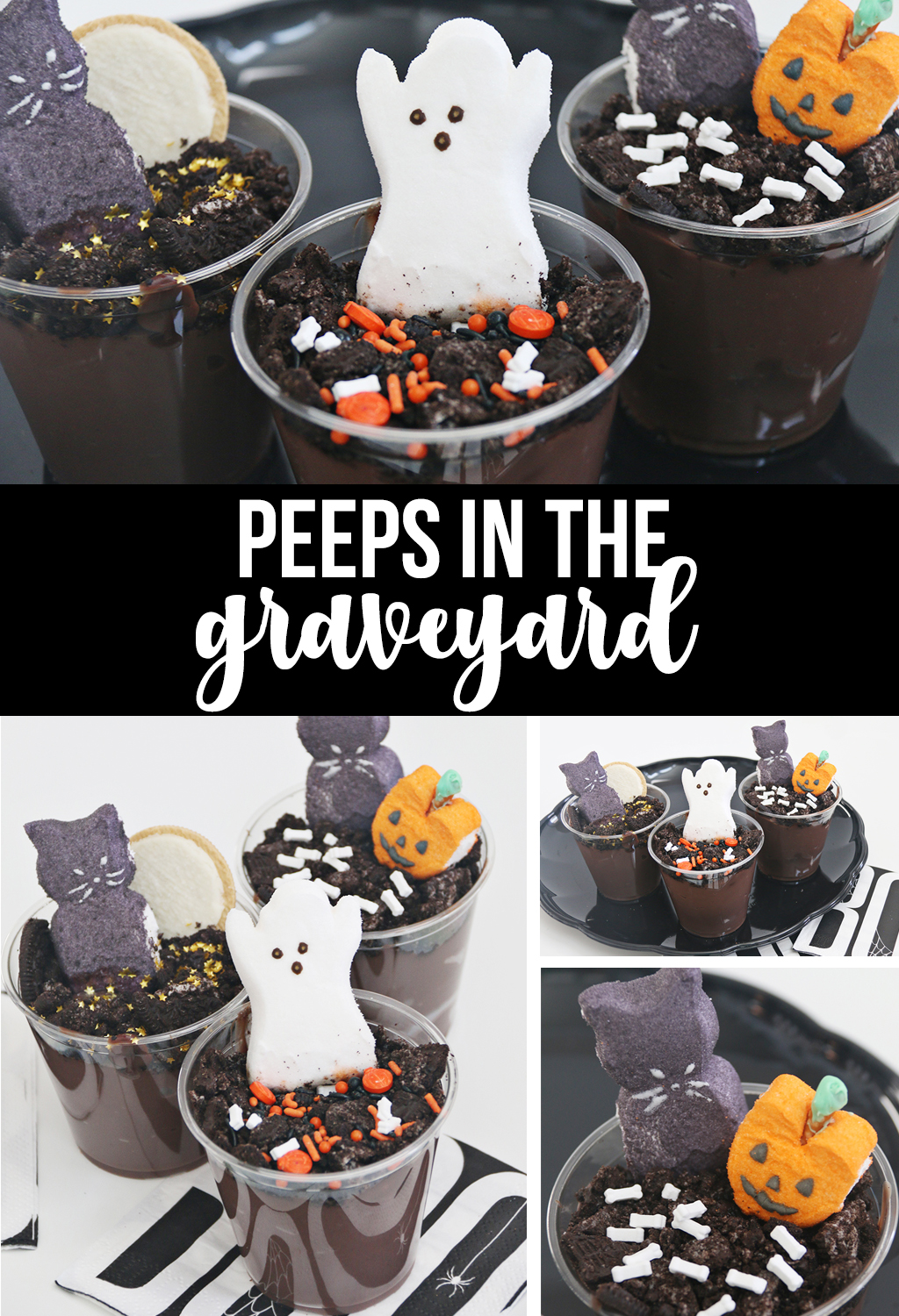 Recipe for Peeps in the Graveyard