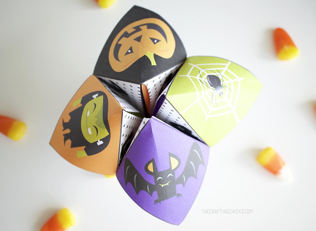 Hilarious Halloween Cootie Catchers