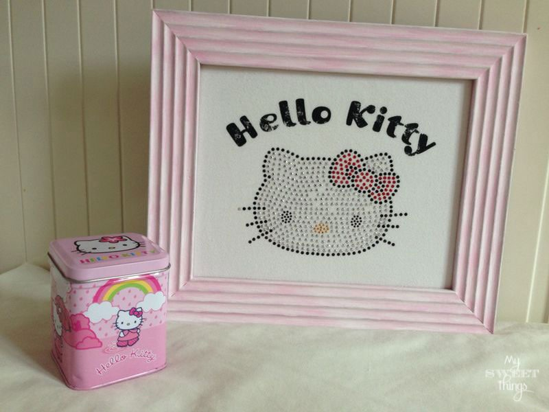 DIY Hello Kitty decor